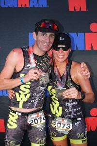 Team K and G at Ironman Texas 2013