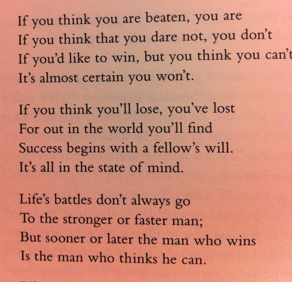 Please Provide Me Poem On Success English 9380963