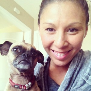 Hi from rainy California. Frida and I this past weekend.