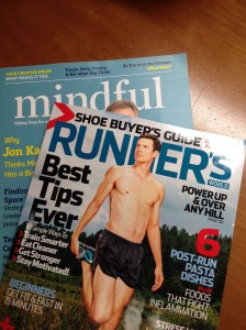 Surreal but you don't know how many times I've dreamt of seeing my name in print in RUNNERS WORLD!