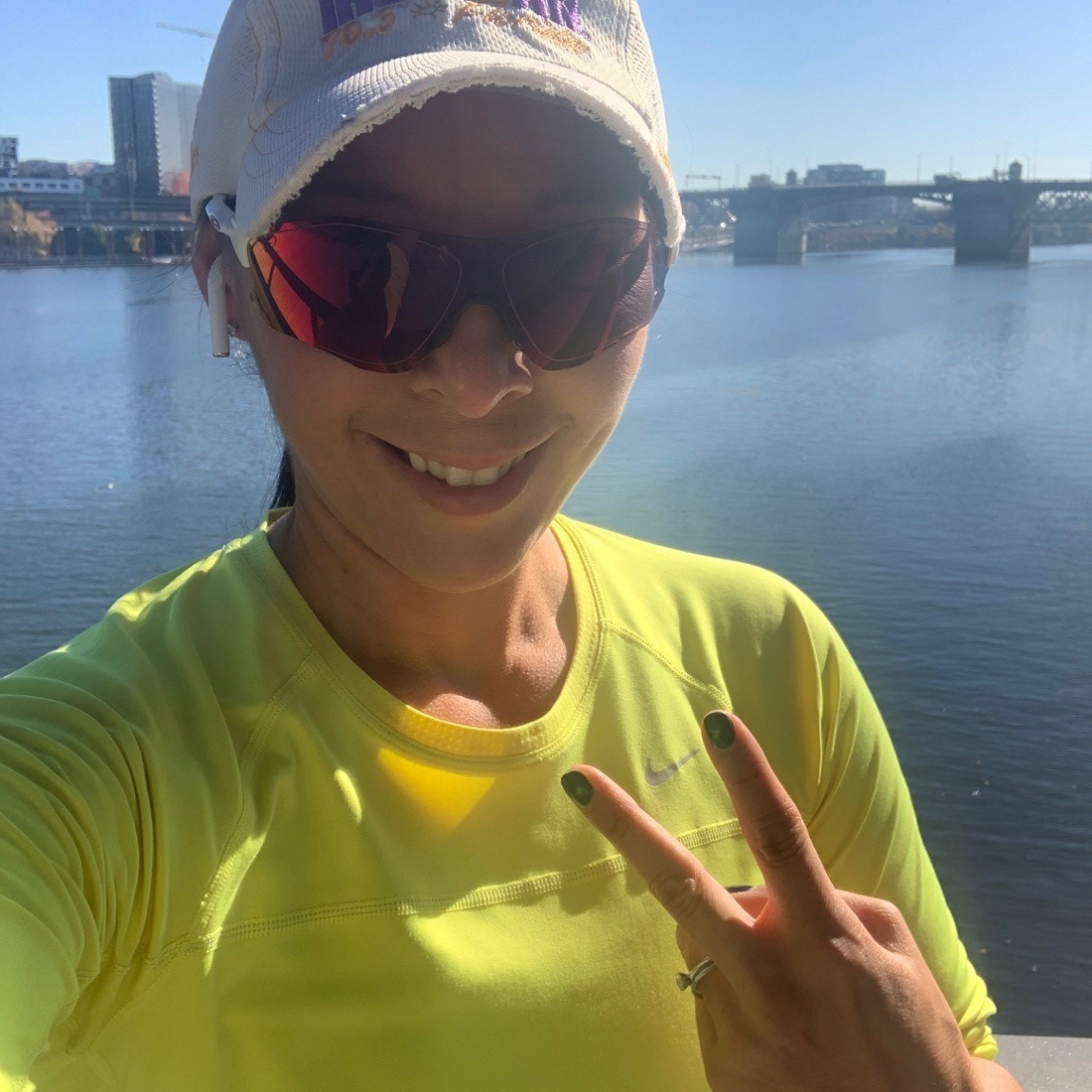 Getting my run on along the waterfront!